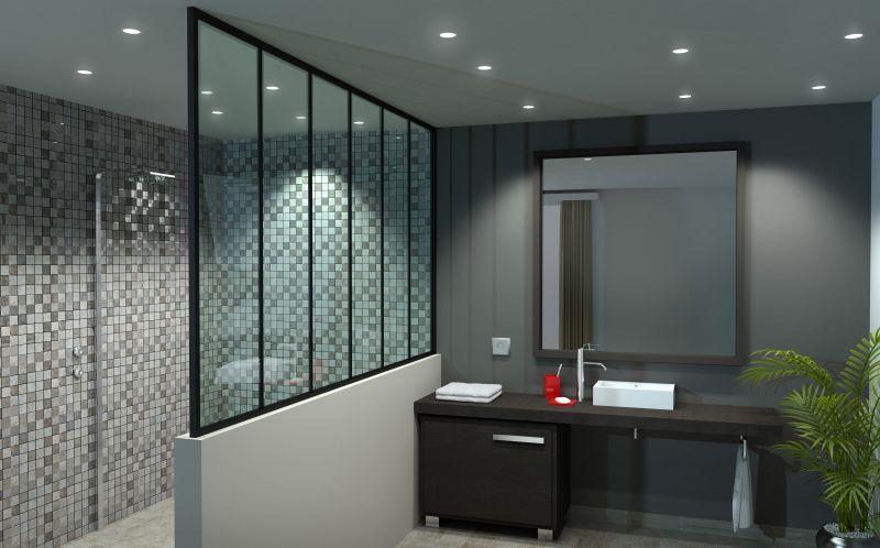 nous r alisons des paroi de douche sur mesure adapt es. Black Bedroom Furniture Sets. Home Design Ideas